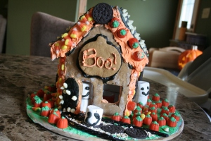 Haloween Gingerbread House
